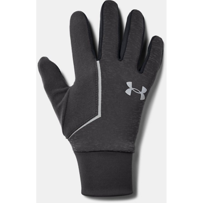 Under Armour Storm Run Liner Gloves Men's Grey Ungleiche Leistung