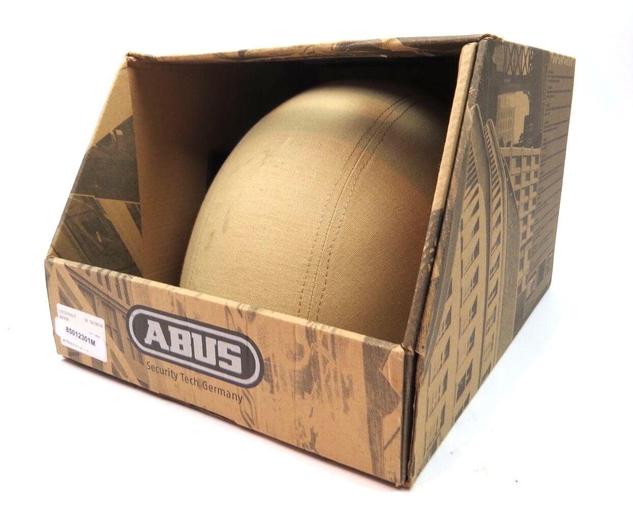 ABUS Cyclonaut Bicycle Helmet Size Medium - Beige