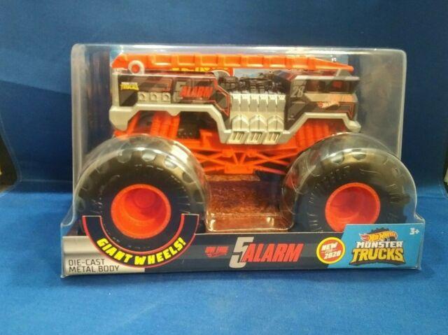 2020 5 Alarm Hot Wheels Monster Truck 1 24 For Sale Online Ebay