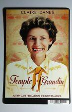 TEMPLE GRANDIN CLAIRE DANES COVER ART MINI POSTER BACKER CARD (NOT a movie)