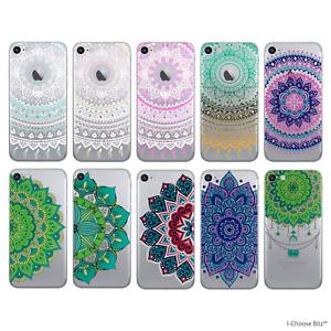 Mandala-Coque-Housse-Apple-iPhone-5-5S-SE-6-6S-7-Protecteur-d-039-ecran