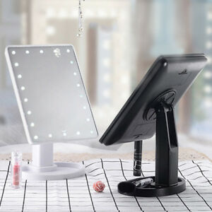 Cosmetic-Make-up-Beauty-Mirror-Rotatable-Mirror-amp-Built-in-LED-Lights