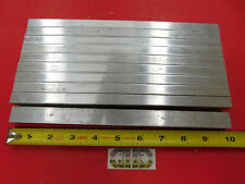 10 Pieces 12 X 34 Aluminum 6061 Flat Bar 10 Long Solid Extruded Mill Stock