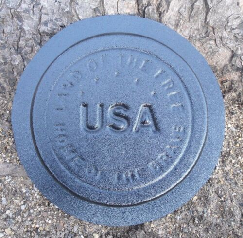 Service mold plaster concrete stepping stone military mold