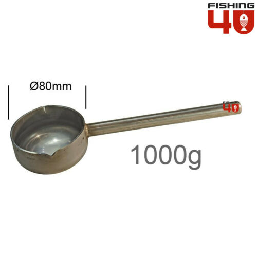 Lead Ladle Fishing Weight Making Stainless Steel 1000gr Fishing Lead Molds