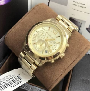 Michael-Kors-Cooper-Gold-tone-chronograph-Watch-MK6724