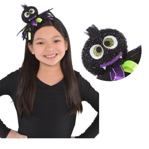 Halloween Glittery Crafty Spider Creepy Crawly Ribbon Headband Costume Accessory