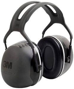 3M Peltor X Series Over the Head Earmuffs NRR 31 dB Black X5A Pack of 1