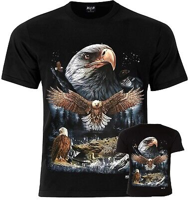EAGLE Indian Native American Birds Of Prey T-Shirt S M L XL
