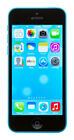 Apple iPhone 5c - 16GB - Blue (Unlocked) A1532 (CDMA + GSM)