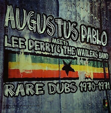 AUGUSTUS PABLO Meets LEE PERRY & THE WAILERS RARE DUBS 1970-1971 NEW CD £9.99