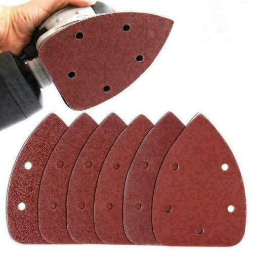 20pcs Triangle Sanding Sheets 40//60//80//100//120//240//320 Grit Mouse Sander Pads