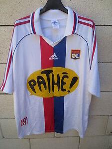 Maillot-OLYMPIQUE-LYONNAIS-Lyon-ADIDAS-vintage-shirt-2001-home-trikot-maglia-XL