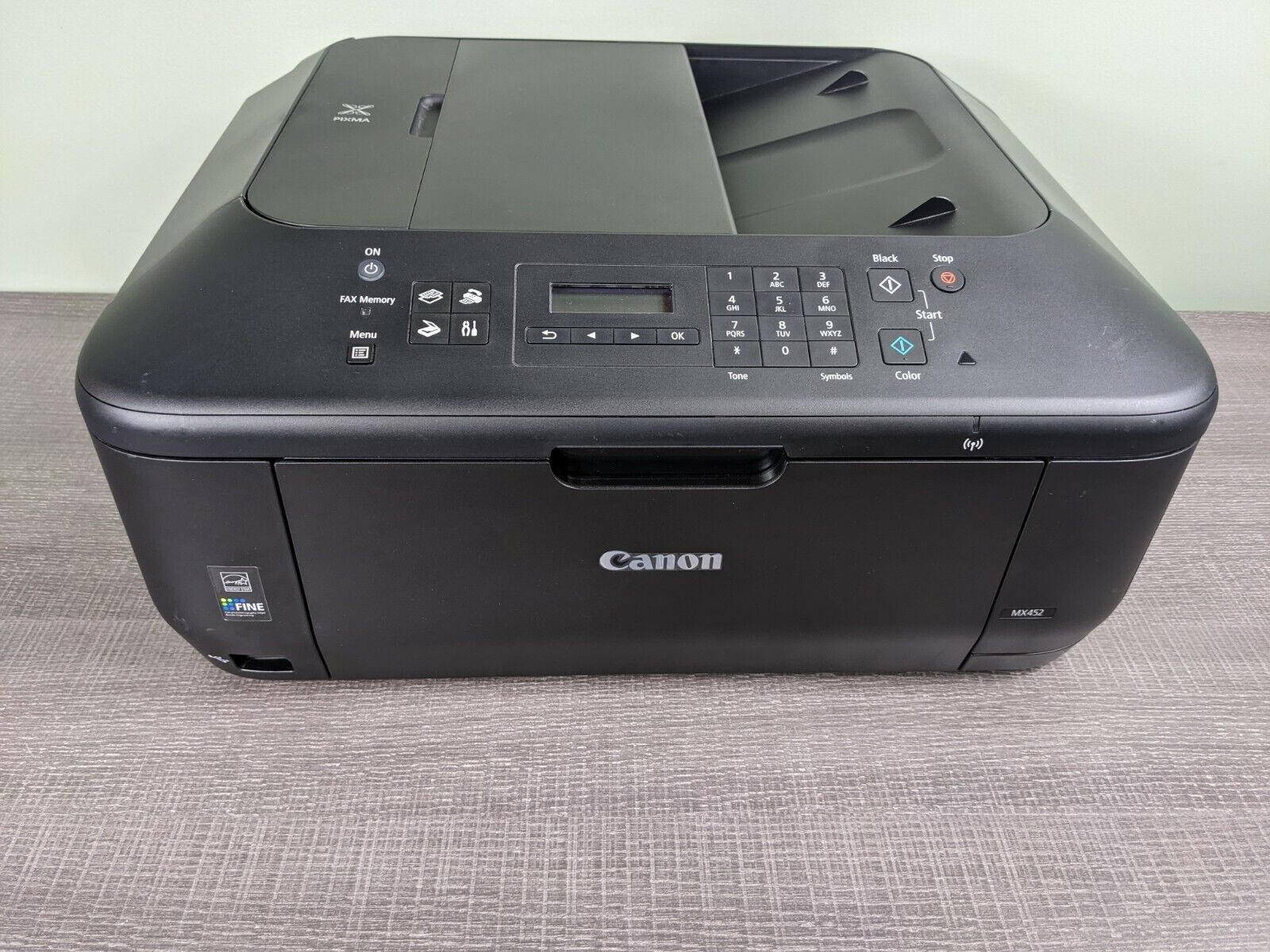 canon mx452 all-in-one inkjet printer for sale online | ebay  ebay