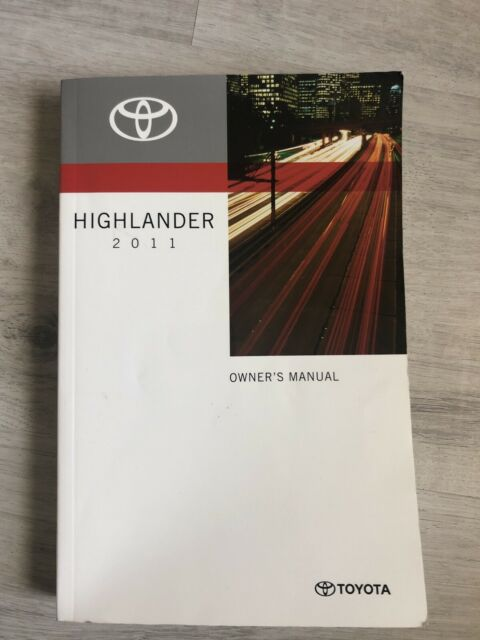 2020 Highlander Owner U2019s Manual Available Manual Guide