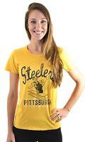 Nfl Pittsburgh Steelers Classic Logo Girls Tee