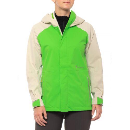 Cotopaxi Women Tikal Active Jacket Softshell Waterresistant Grass//Cream S M