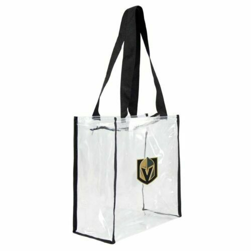 Vegas Golden Knights NHL Clear Stadium Tote Bag for sale online | eBay