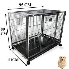 XL Portable Large Dog Cage Puppy Playpen Collapsible Enclosure Kennel Cat Rabbit