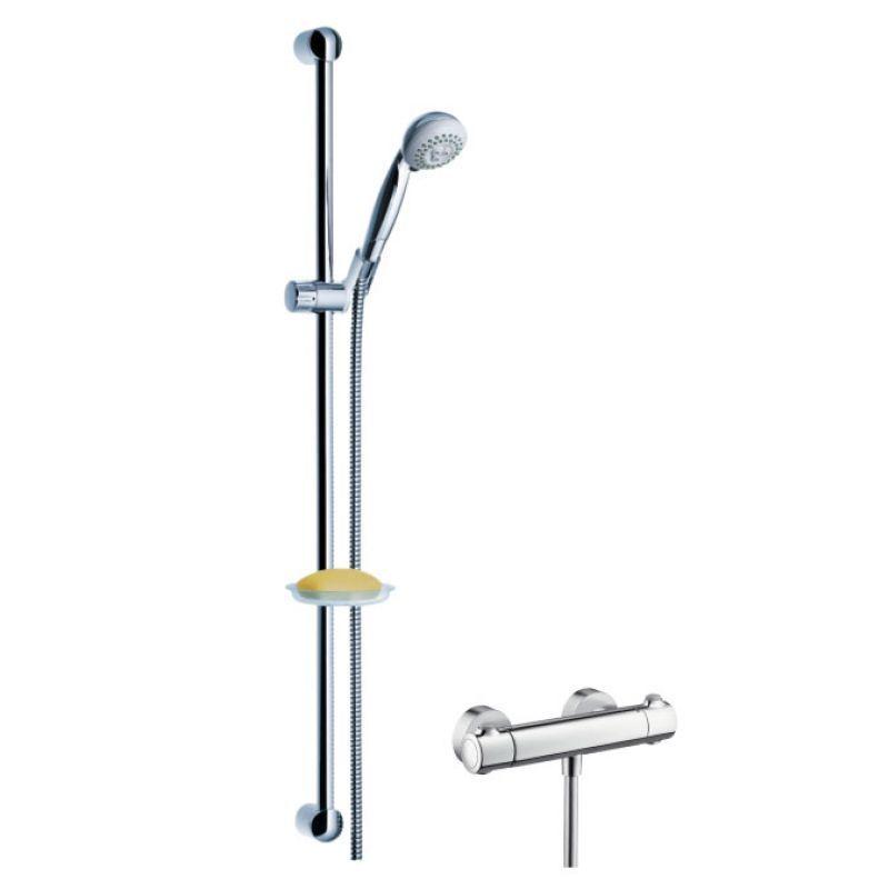 Hansgrohe Croma Ecostat Combi 0,90m für Dusche 27063000 Set | Der Schatz des Kindes, unser Glück  | Tadellos  | Qualität Produkte  | Verkauf