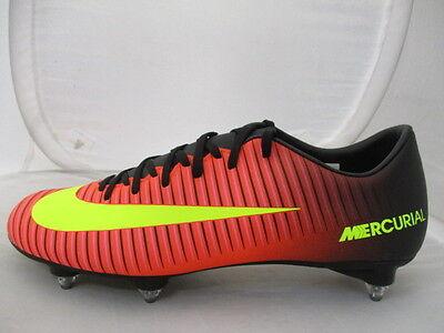 Nike Mercurial Vortex SG Football Boots Mens UK 6 US 7 EUR 39 Ref 67*