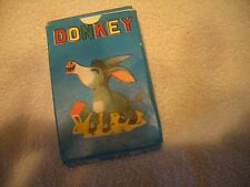 VINTAGE 1950'S, CHILDREN'S DONKEY CARD GAME, COMPLETE, MINT/OB, MADE HONG KONG!