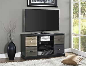 Altra Furniture Blackburn 48-inch Flat Screen TV Stand, Black Finish-Black NEW