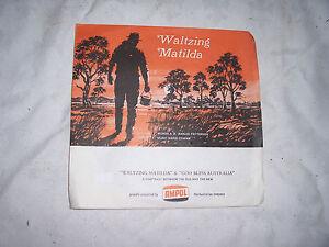 1968-Ampol-Australia-Red-45-RPM-Flexidisc-Waltzing-Matilda-God-Bless-Australia