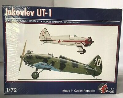 Conscientious Pavla 1/72 Toys & Hobbies Jakovlev Ut-1 Model Aircraft Sealed Parts Suitable For Men And Women Of All Ages In All Seasons