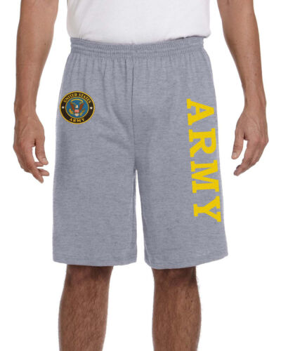 US Army shorts workout gym running training shorts for men United States Army
