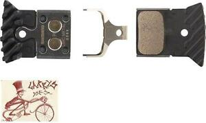 SHIMANO L04C METAL DISC BICYCLE BRAKE PADS W// FIN FOR FLAT MOUNT BR-RS805 ETC.