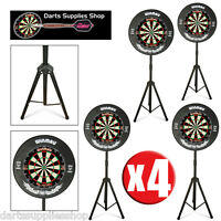 The Darts Caddy, Portable Dartboard Stand For The Serious Darts Player X 4