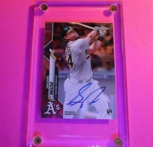 Sheldon-Neuse-2020-Topps-Chrome-Baseball-Rookie-Autograph-RASN-Auto-RC