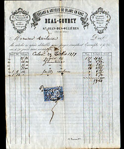 SAINT-JEAN-des-OLLIERES-63-RUBANS-amp-ARTICLES-de-BLANC-034-BEAL-amp-GOURCY-034-en-1879