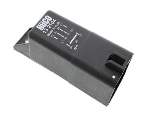 9 Pin 038 907 281 A Diesel Glow Plug Control Relay Module Hueco 132104