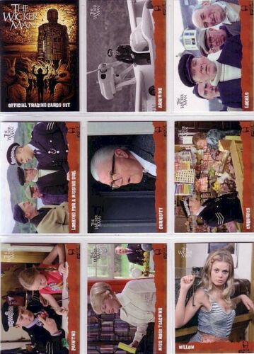 Unstoppable Cards 2014 The Wicker Man 54 Card Basic//Base Set