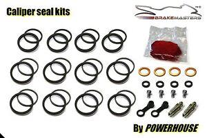 Kawasaki ZX-7R rear brake caliper piston seal rebuild repair kit 1999 2000 2001
