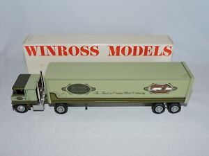 Winross-Tractor-Trailer-Truck-Delwood-Kitchens-Advertising-Collectible-Diecast