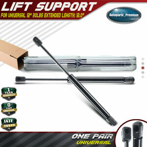 """Universal 12/"""" 30lbs 8.1/"""" Ball Socket Gas Charged Lift Supports Shock Struts 4420"""