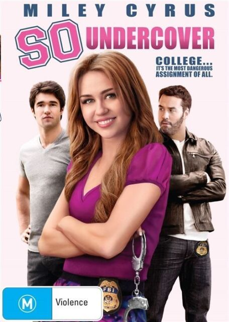 SO UNDERCOVER DVD Miley Cyrus COMEDY (Sealed)*R4