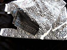 50 Zebra Plastic T-Shirt Bags 11 x21  Wholesale Animal WHandle Retail Gift Bags