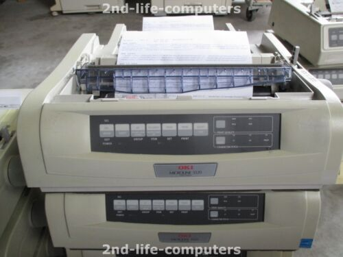 1 von 1 - OKI 5520 D22200B 9 Pin Dot Matrix Nadel Impact Drucker USB PARALLEL A4 B/W POS