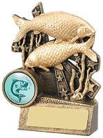Angling Fishing award fishing Trophy- Free Engraving