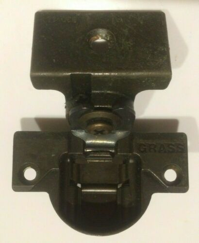 Grass 83/_ Bronze Colored Face Frame Cabinet Hinge with 830-14 mounting plate