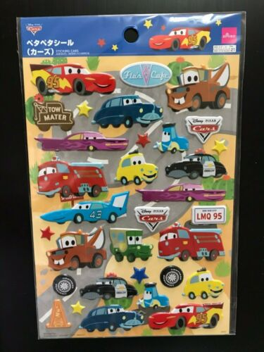 Daiso Stickers Cars Pixar  Disney McQueen Meter Sally Made in Japan New