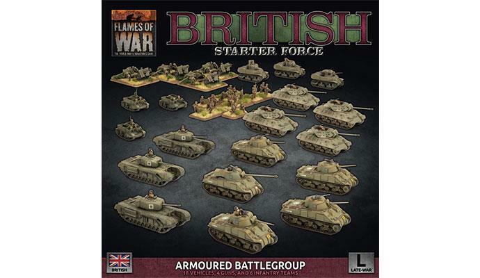 Britannique Fin de la Guerre   Armé  Battlegroup   - Flames Of War - BRAB12    voici la dernière