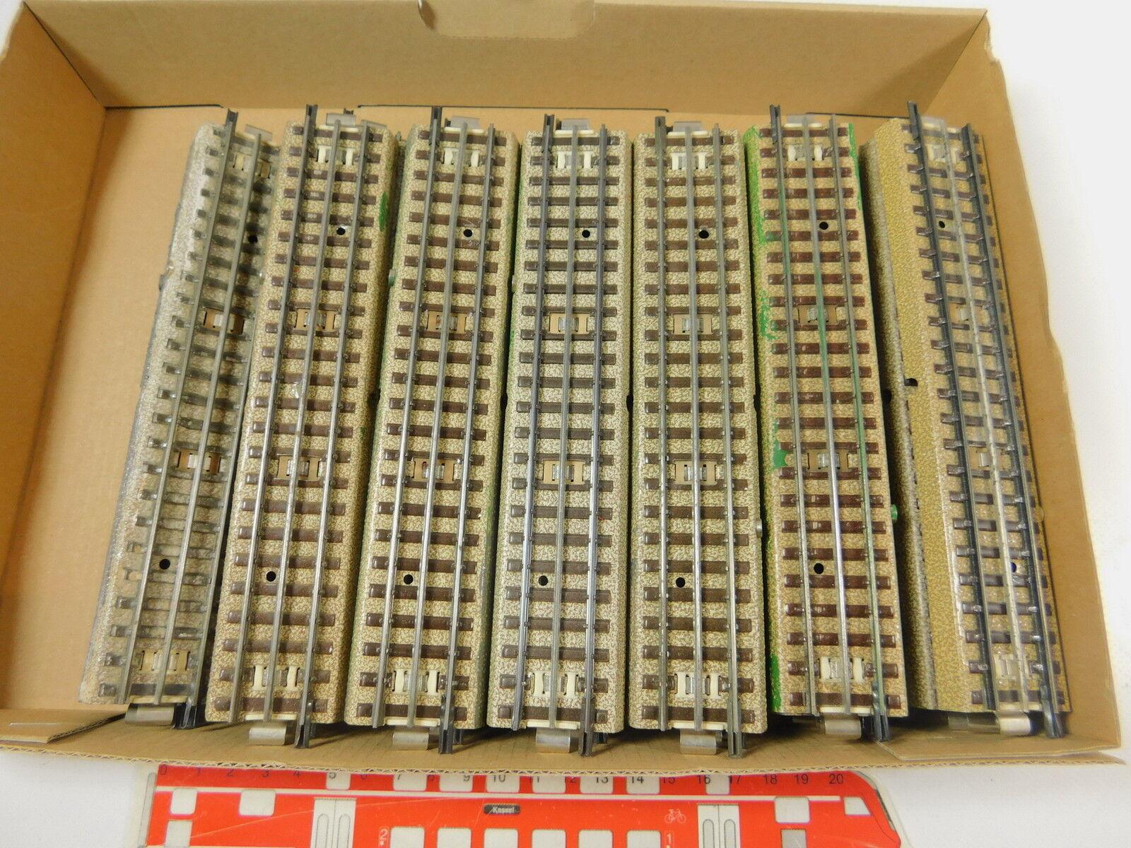 Ar509-2  34x marklin h0 00 ac pezzo di binario appena M-Binario 3600 800 capo fondi
