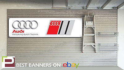 Rs6 A8 Audi Workshop Garage Banner A1 Rs5 A3 Rs3 Rs7 A4 Rs4 A5