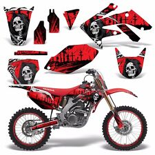 Full Graphics Kit Honda CRF250R Dirt Bike Decals CRF 250 R CRF250 06-09 REAP R
