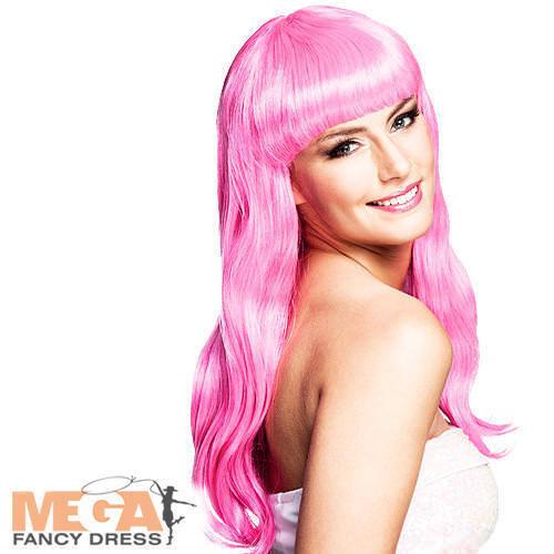 ICY Rosa Parrucca Chique Donna Costume Celebrità Adulto Costume Da Sirena Accessorio